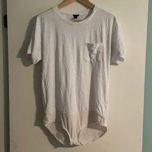 J Crew Tshirt Bodysuit